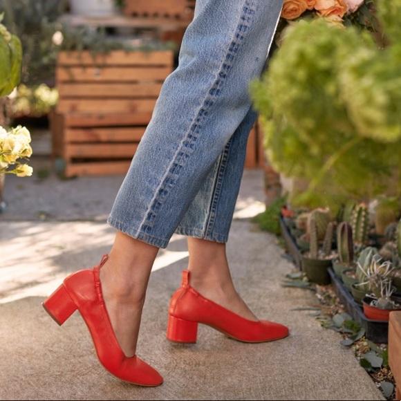 353943b2a1ea Everlane Shoes - The Day Heel - EVERLANE